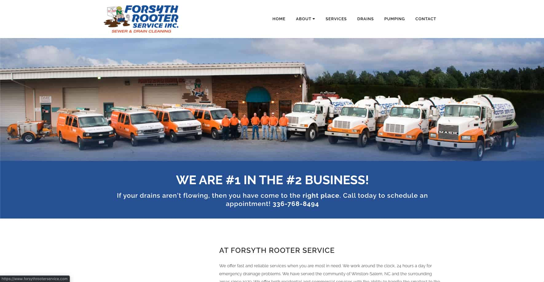 Rooter & Septic Service Website
