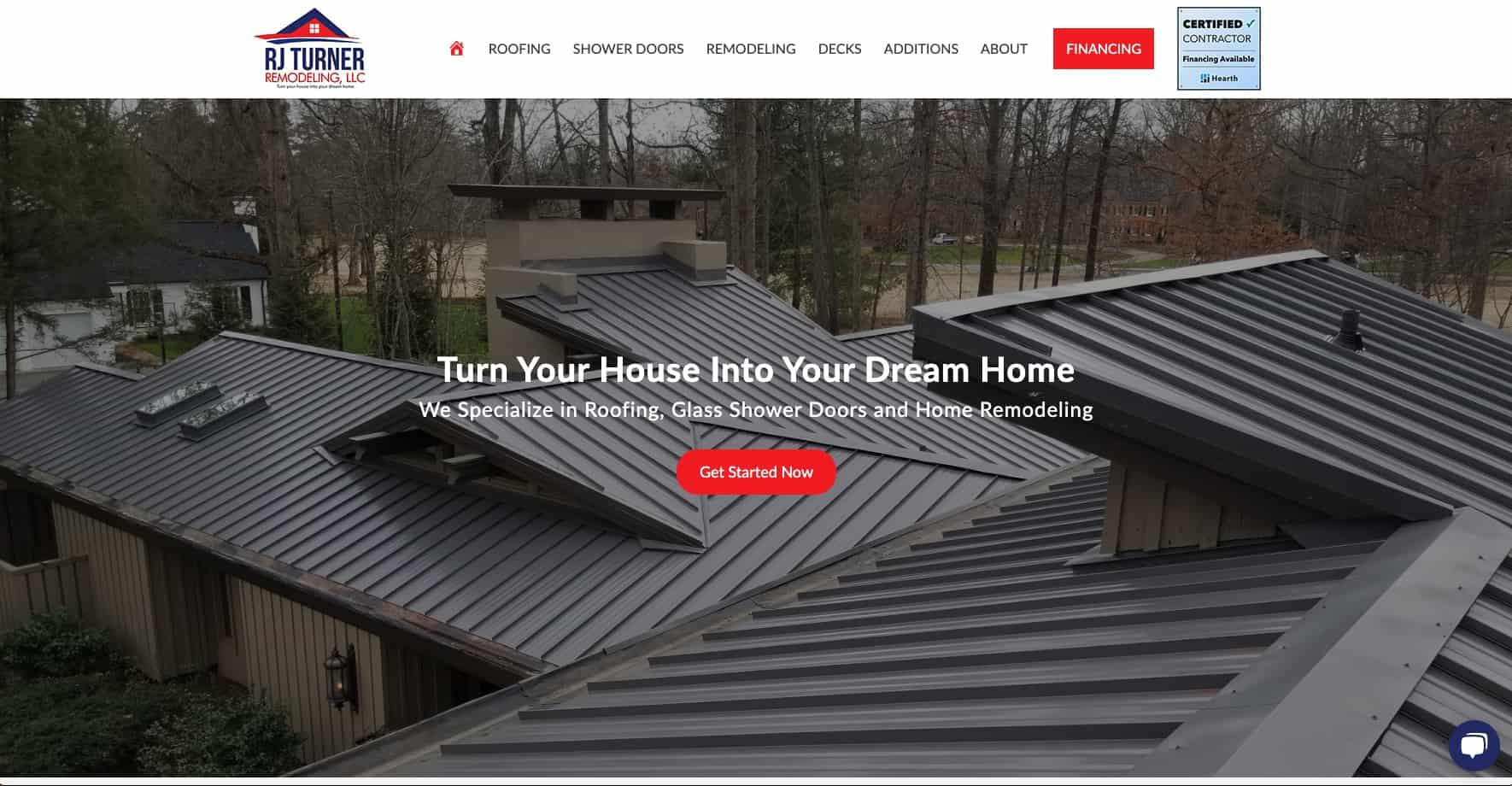 Home Remodeling Service Website